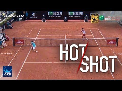Hot Shot Dolgopolov, Djokovic Put On A Show In Rome 2018