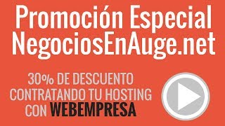 Cómo contratar hosting con Webempresa
