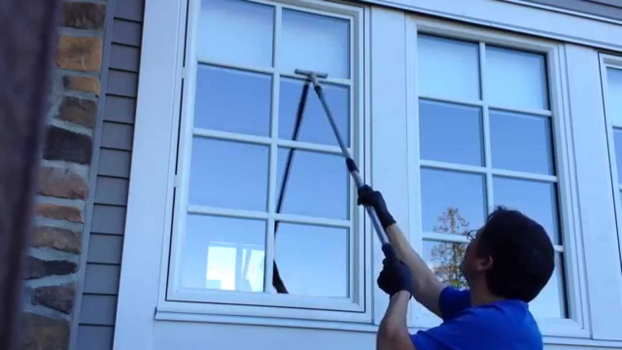 Demo Cleaning French Pane Windows Outside Youtube