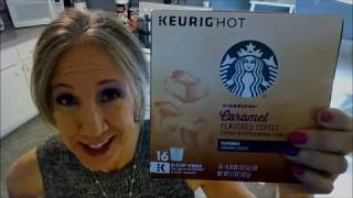 Starbucks Caramel Coffee Pods for Keurig | My Favorite!