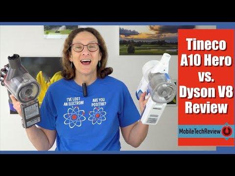 Tineco A10 Hero vs. Dyson V8 Review and Comparison