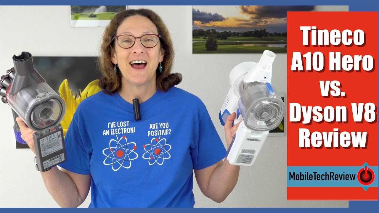 a4199c14b59 Tineco A10 Hero vs. Dyson V8 Review and Comparison - YouTube