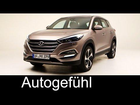 All new Hyundai Tucson 2015 2016 exterior interior replacing Hyundai ix35 Autogefhl