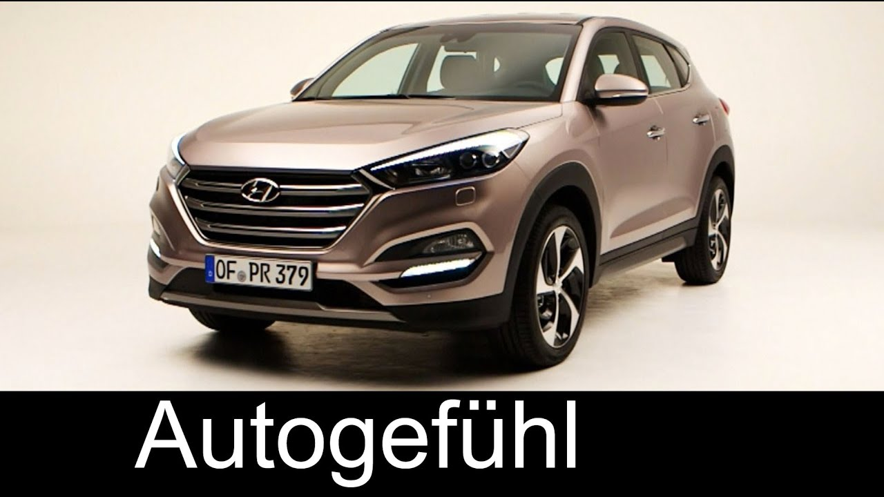 Genialny All-new Hyundai Tucson 2015/2016 exterior & interior - replacing DO24