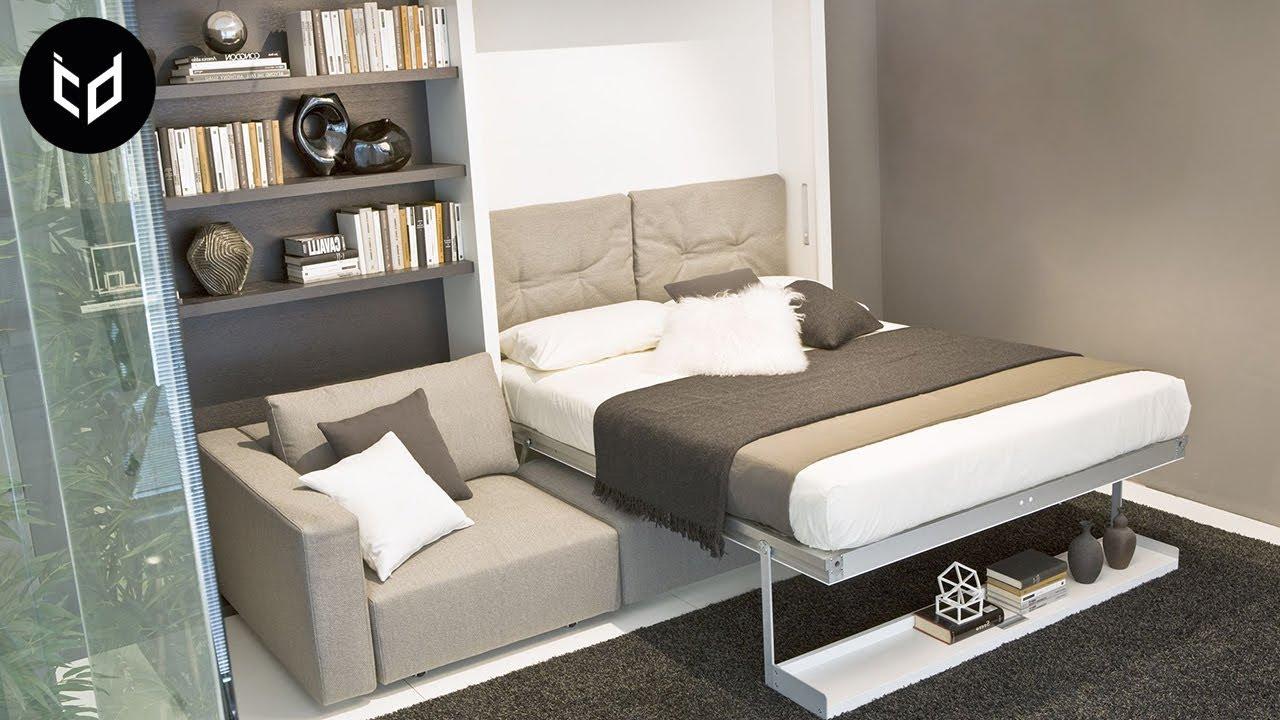 Incredible Space Saving Furniture Murphy Bed Ideas 2 Youtube