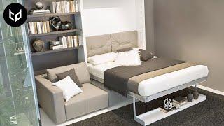 INCREDIBLE Space Saving Furniture - Murphy Bed Ideas ➤ 2