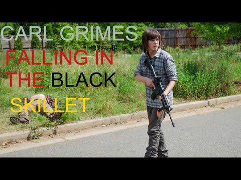 The Walking Dead-Carl Grimes Tribute-FALLING IN THE BLACK-SKILLET