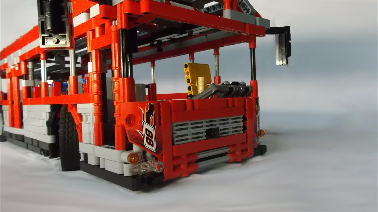 Lego Technic City Bus Youtube