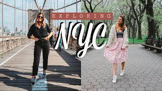 EXPLORING NYC: BROOKLYN BRIDGE + CENTRAL PARK