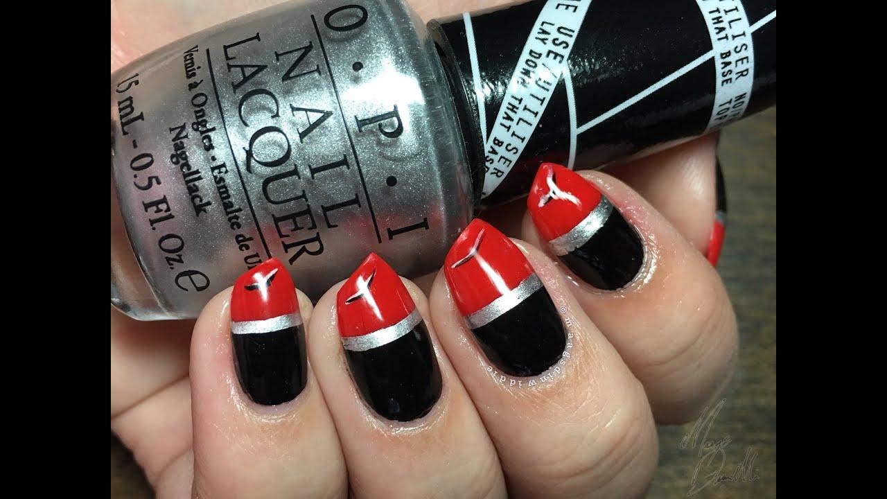 Lipstick Nails - YouTube