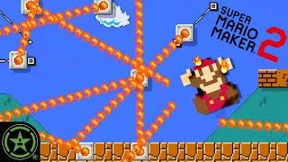 World 1-1 With a Twist (Impossible Level) - Super Mario Maker 2 - Live Gameplay