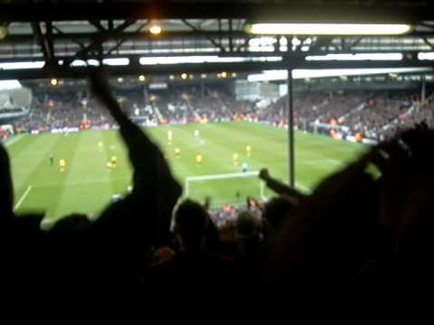 1-0 Bobby Zamora, Fulham - WBA 22 feb' 09
