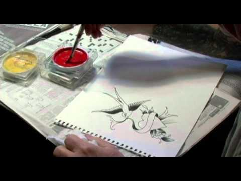 Ed Hardy Tattoo the World: Drawing flash