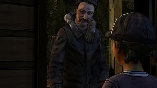 William Carver Visits Clementine The Walking Dead Season 2 Episode 2 A House Divided