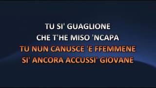 Renato Carosone - Guaglione (Video karaoke)