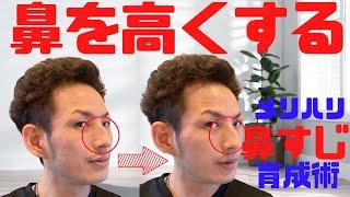 【鼻美人】鼻や鼻筋を高くし、メリハリが効いた鼻を作る最新メソッド「鼻筋矯正」【大分市 腰痛治療家 GENRYU ( 安部元隆 )】