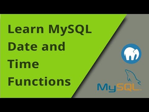 Learning MySQL - Date And Time Functions