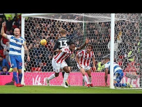Highlights: Stoke City v Queens Park Rangers