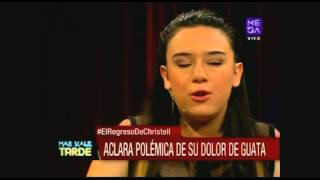 """Christell Rodríguez: """"Un día no me llamaron más de Rojo"""""""
