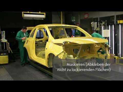 Почему покраска автомобиля на заводе превосходит любую малярку в любом автосервисе?