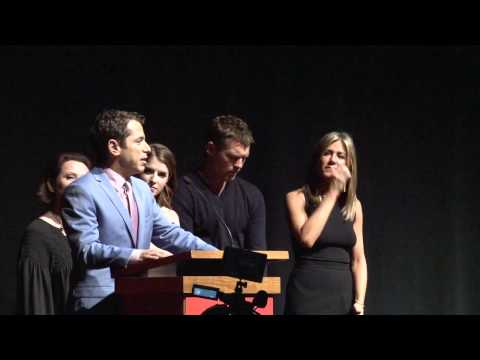 Cake: Exclusive TIFF Premiere Intro Panel - Jennifer Aniston, Sam Worthington
