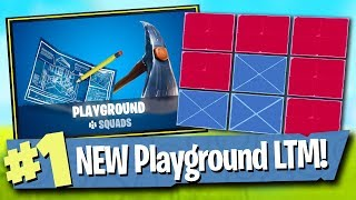 Fortnite Playground LTM Gameplay + 4.5 Patch Notes - Fortnite Battle Royale