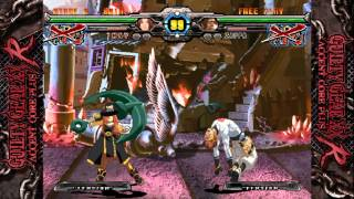 PS Vita - Guilty Gear XX Accent Core Plus R - May Gameplay