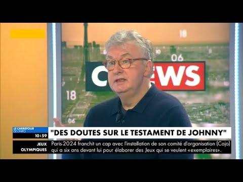 Testament de Johnny Hallyday : Dominique Besnehard accable Laeticia et sa famille