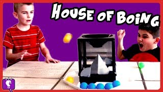 HOUSE OF BOING GAME! Competition Play by HobbyKidsTV