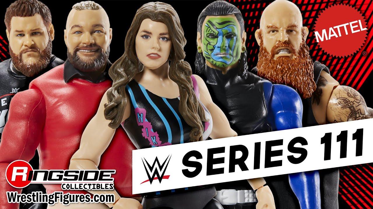 Jeff Hardy WWE Mattel Basic Series 111 Action Figure NEW