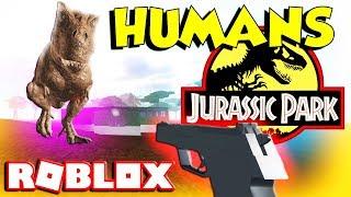 Roblox Isla Sorna Humans Added- (Jurassic Park)