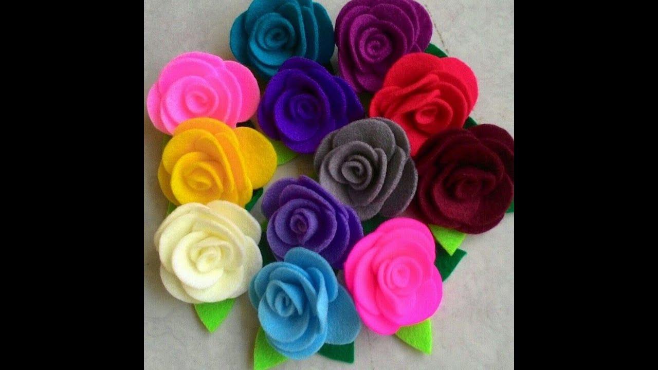 Tutorial Flanel Felt | Bross Mawar / Rose ala Rangga Bastian #1