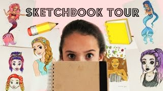 ORIGINAL DRAWINGS?! - Sketchbook Tour 2