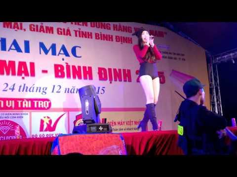 """Khổng Tú Quỳnh với """"Lạnh"""" in Quy Nhơn"""