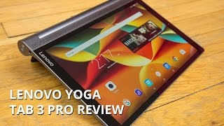 Lenovo Yoga TAB 3 Pro Review(Business meets fun in the new Lenovo Yoga Tab 3 Pro tablet! Our review will show you how this projector-equipped device handles stress, all the while it's ..., 2015-12-10T14:01:51.000Z)