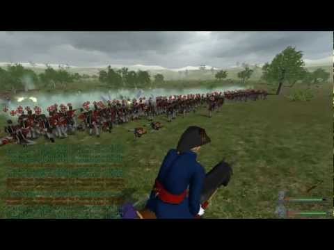 Mount and Blade Napoleonic wars: 200 British Line Infantry Vs 200 French Line Infantry