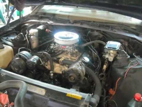 1991 Camaro RS Engine Swap V6 to V8 - YouTube
