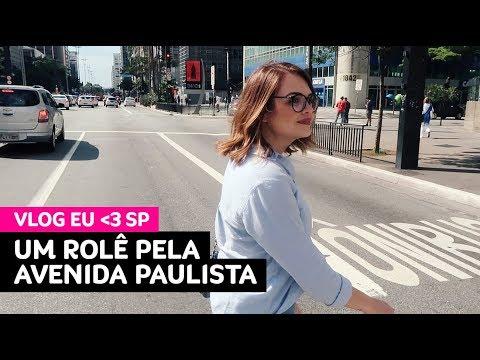 Vlog: um rolê pela Avenida Paulista (onde fazer compras, comer, passear...) • Karol Pinheiro
