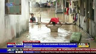 Ratusan Rumah di Tulang Bawang Terendam Banjir Satu Meter