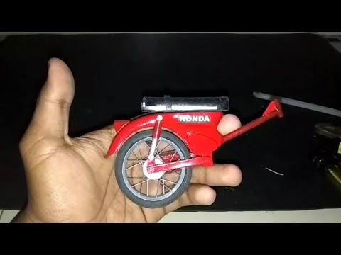 Cara Membuat Rangka Miniatur Motor C70 Part Tutorial Youtube