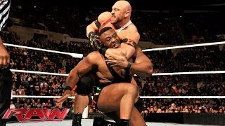 Big E Langston & Mark Henry vs. Ryback & Curtis Axel: Raw, Nov. 25, 2013