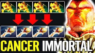 CAN'T SURVIVE [Ember Spirit] Caner Turbo MODE w/ YapzOr Crazy Fun Pub Game  Dota 2