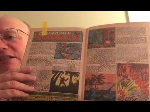 Reading comic book letter columns