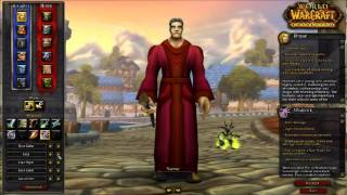 World of warcraft Cataclysm - Character creation - Human male/female