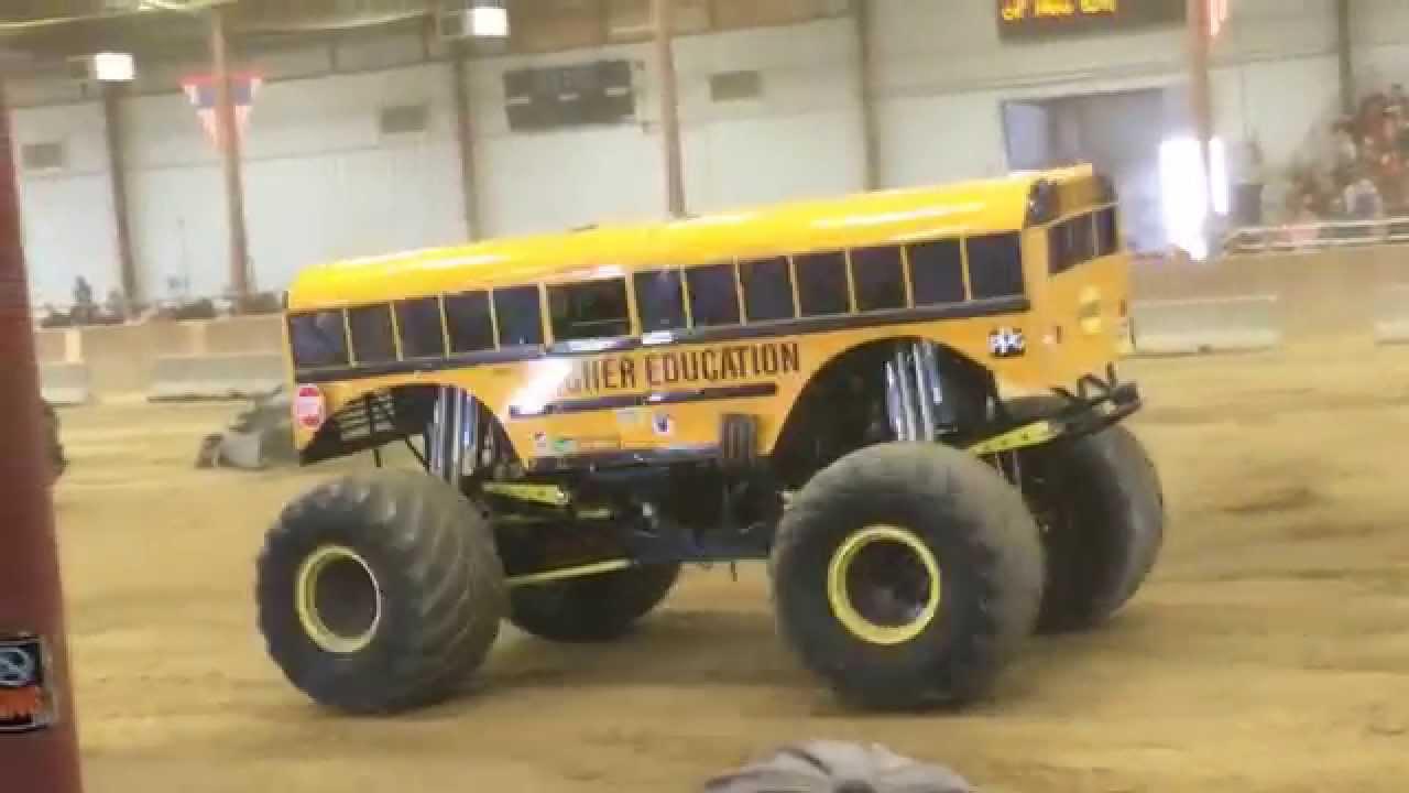 Monster Truck Show Topsfield Fair 2015 Monster School