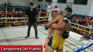 🥊Gustavo Scarfo Vs Pipi Romero - KICKBOXING - PRO - Campeones Del Pueblo - Siempre Humilde