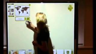 Интерактивная доска на уроке в школе. WizTeach Ч.4. География.