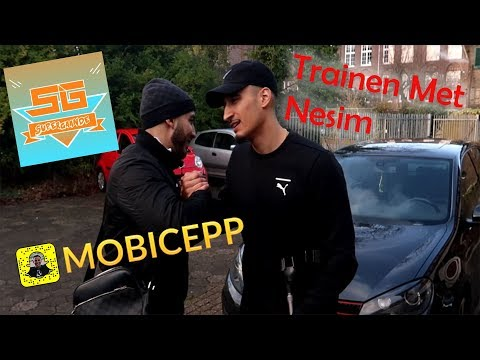 mobicep en Nesim najih in the gym VOET GEKNEUSD #vlog 11