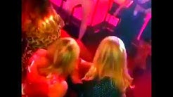 Hen party with Male Stripper in Tramps Tenerife caught on secret camera