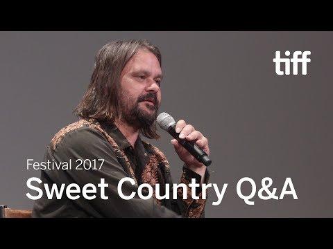 SWEET COUNTRY Q&A   Warwick Thornton   TIFF 2017